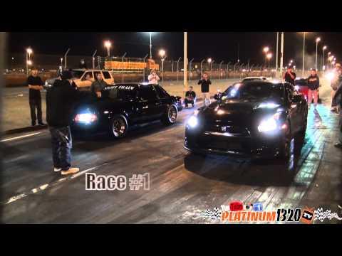 Nissan GT-R vs LQ9 Nitrous Mustang