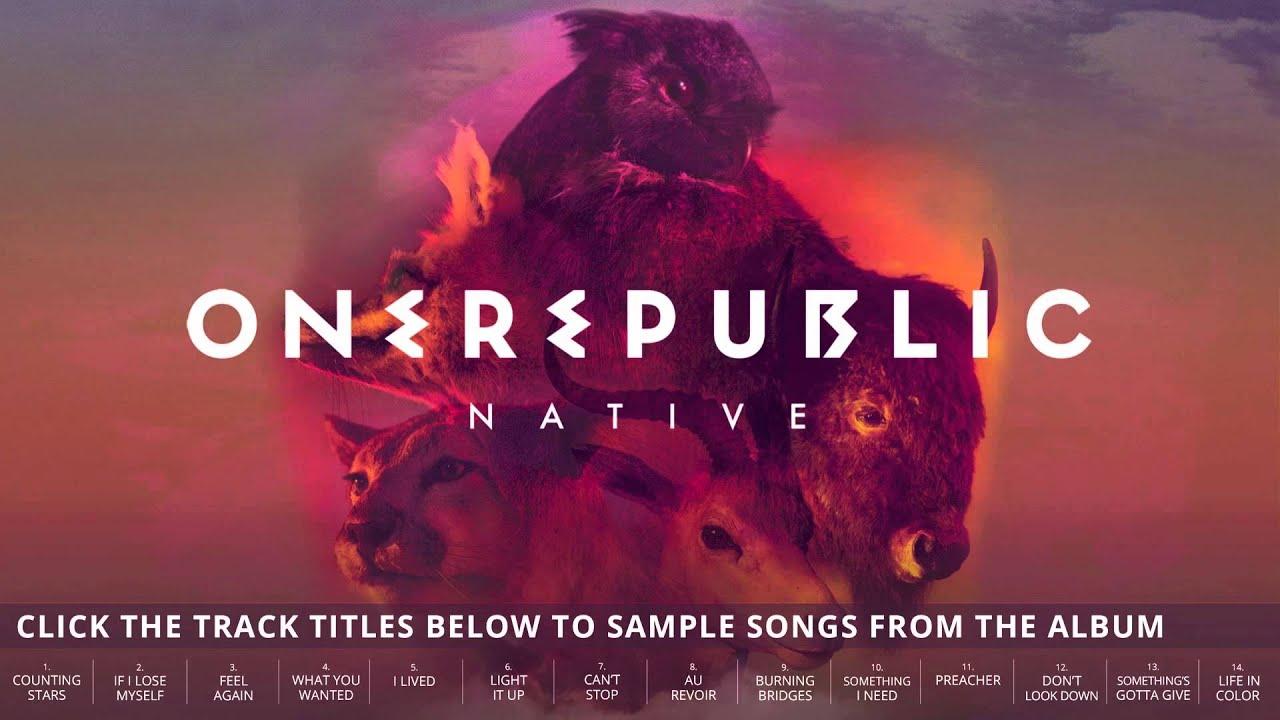 onerepublic - native album sampler