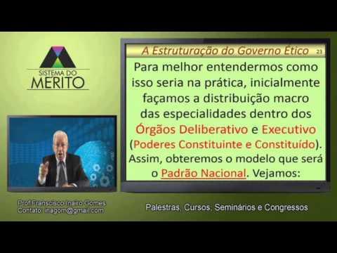 POL.15 - A Estruturação do Governo Ético