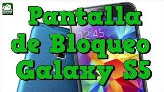 Como Poner La Pantalla De Bloqueo Del Galaxy S5