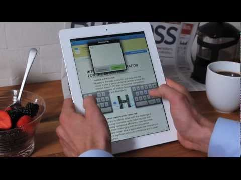 Huddle for iPad Video: enterprise content discovery for iPad