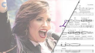 Piano Let It Go Demi Lovato Sheet Music, Chords