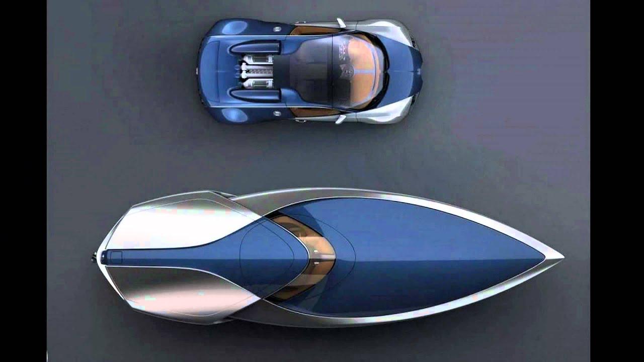 bugatti veyron sang bleu speedboat concept by ben walsh. Black Bedroom Furniture Sets. Home Design Ideas