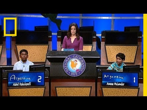Can You Answer 2014 Geographic Bee's Winning Question?