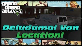GTA 5 Deludamol Van Location! Damaged Goods Drug Truck