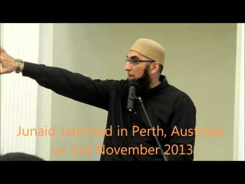 Junaid Jamshed Bhai's Bayan at Perth, Australia; on 3rd November 2013