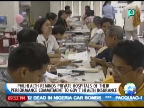 PhilHealth reminds private hospital of their performance commitment to gov't health insurance