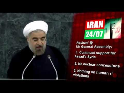 What Rouhani SAID and DID NOT SAY at the UN