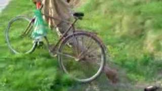 Piston na rowerze