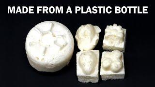 Recycling a plastic soda bottle