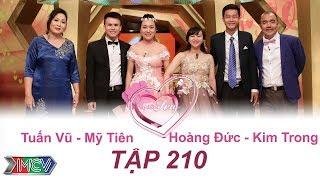 VỢ CHỒNG SON | Tập 210 FULL | Tuấn Vũ – Mỹ Tiên | Hoàng Đức – Kim Trong | 270817 💑