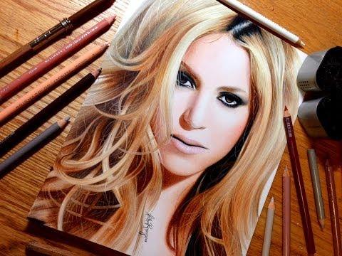 Drawing Shakira