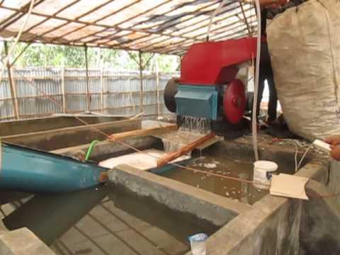 Mesin penggiling plastik, mesin pengering limbah plastik [ Tihang Langit Teknik ]