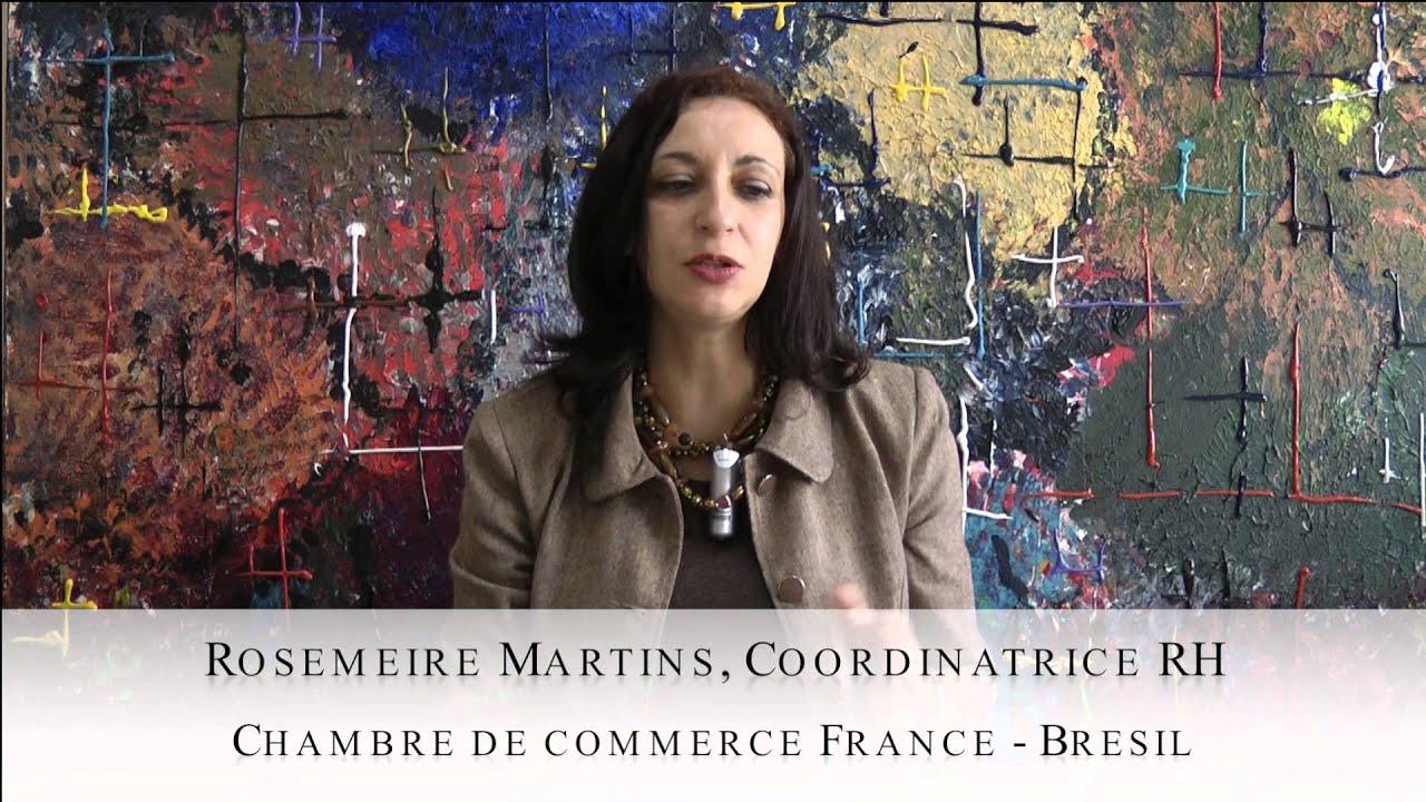 Mylittlebrasil les 3 questions rosemeire martins for Chambre de commerce france bresil