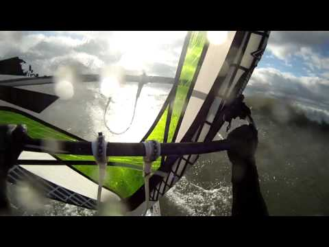 Windsurfing Sherkston - December 22nd 2012