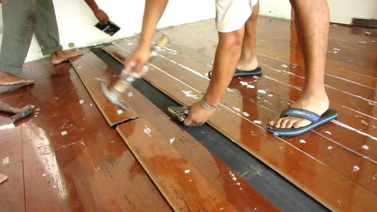 Instalacion de piso youtube - Como nivelar un piso para colocar piso flotante ...