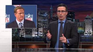 John Oliver: The NFL will have a Domestic Abuse Policy, Eventually