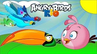 Angry Birds Rio: Timber Tumble Level 7-10 3-Stars