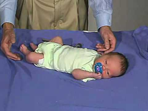 newborn exam Ever wonder why your baby flings his arms out sideways when startled this reaction—called the moro reflex—is one of many natural reflexes your newborn.