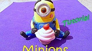 Minions TUTORIAL FACIL Porcelana Fria / Minions DIY