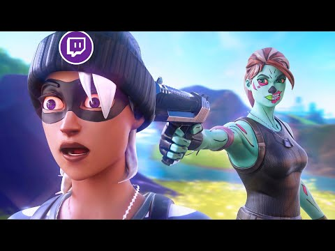 KILLING TWITCH STREAMERS (Funny reactions montage) - Fortnite
