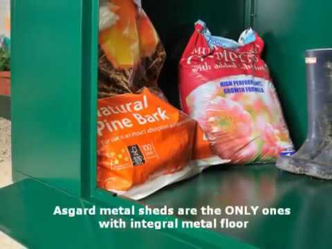 Asgard Flexistore 1533 Metal Shed