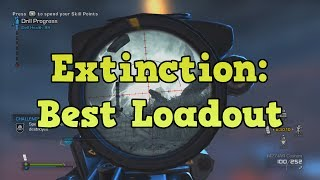 COD Ghosts Extinction Best Loadout (Class, Pistol And