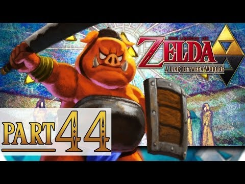 The Legend of Zelda: A Link Between Worlds - PART 44 - GIMME BACK MAH RUPEES!!!