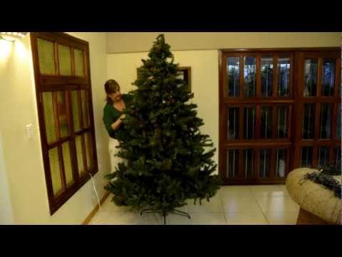 Como decorar un arbol de navidad en 2:30 minutos