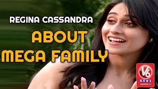 Regina Cassandra About Mega Family - Interview..