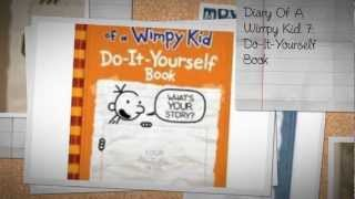 Every Diary Of A Wimpy Kid Book 1-9