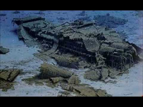 100 años del Titanic: Restos del gran barco