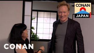 Conan's Japanese Etiquette Lesson