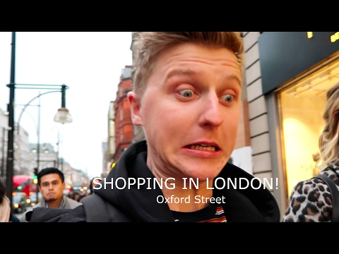 SHOPPING IN LONDON!