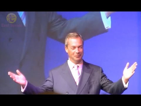 Nigel Farage Keynote Speech Eastbourne South East Conference 2014