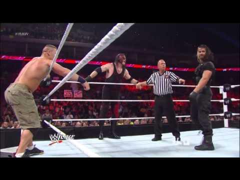 John Cena & Team Hell No vs The Shield Raw 13/5/2013 HD!