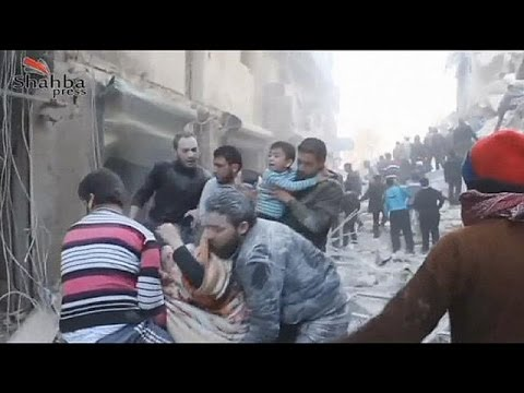 image vidéo تجدد القصف الجوي على حلب
