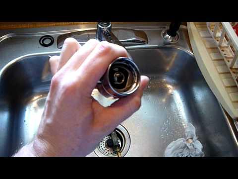 how to repair moen single handle faucet pt 2 youtube