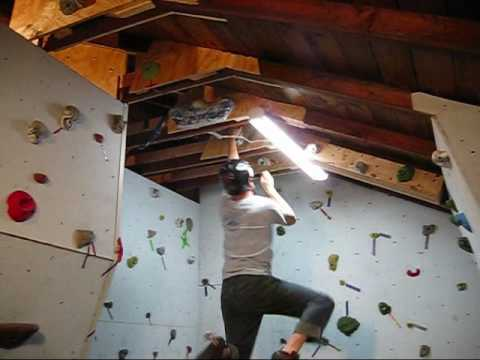 Building a Rock Climbing Wall in the Garage Part 2
