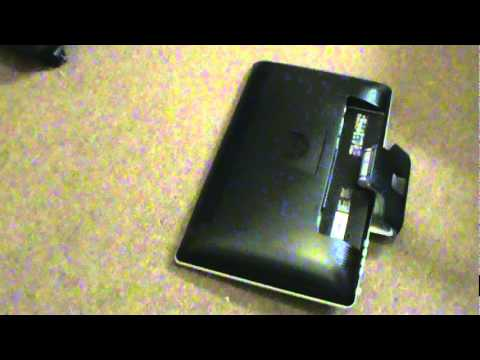Opening The Base Of An Hp 2310m Full Hd Monitor So It
