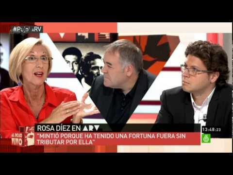 Rosa Díez - Al Rojo Vivo - (La Sexta) - 10.sept.2014