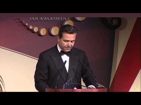 Lloyds chief António Horta-Osório accepts Banker of the Year Award