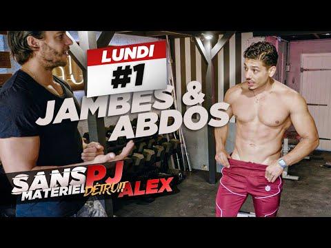 PJ COACH ALEX EN LIVE : JAMBES & ABDOS sans matériel 🔥 QUE DU SALE 💪🏼