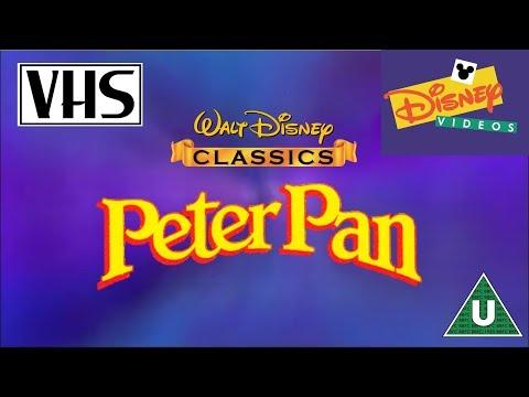 Opening to Peter Pan UK VHS (1998)