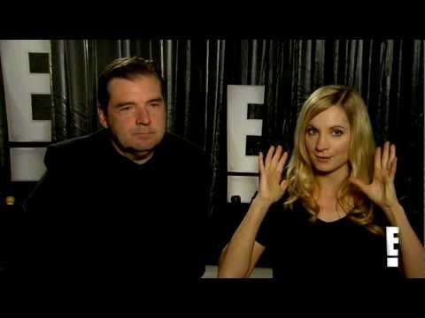 Brendan Coyle and Joanne Froggatt Downton Abbey Interview