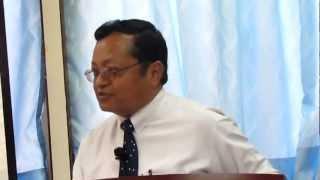 Mr. Dil Bahadur Tamang Preaching In UNCC HK