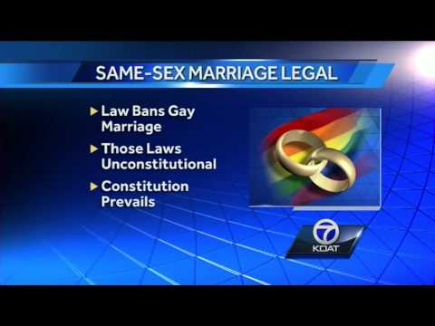 State Supreme Court: Same-sex marriage legal in New Mexico