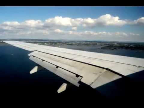 Landing in Haugesund , Norway