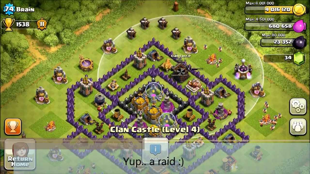 Coc best th8 base
