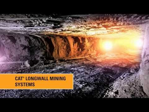 Cat® Longwall Mining Systems